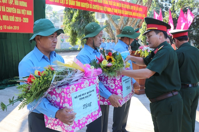 Campaign searching for martyrs remains launched