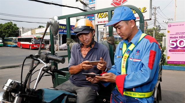 PVOIL and  MoMo co-operate for cashless payment of petrol