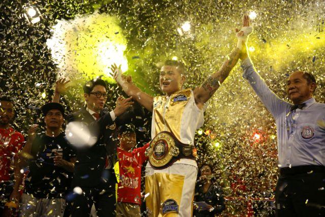 WBA champion Hoàng gunning formore success