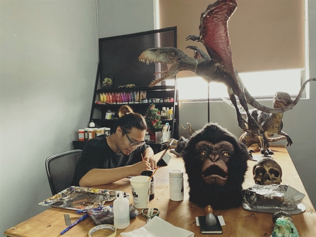 Workshop creates science-fiction monsters