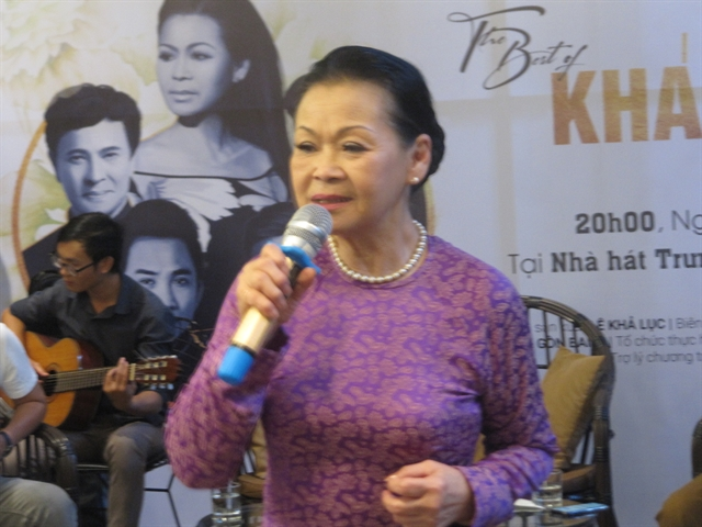 Khánh Ly to perform live in Đà Nẵng