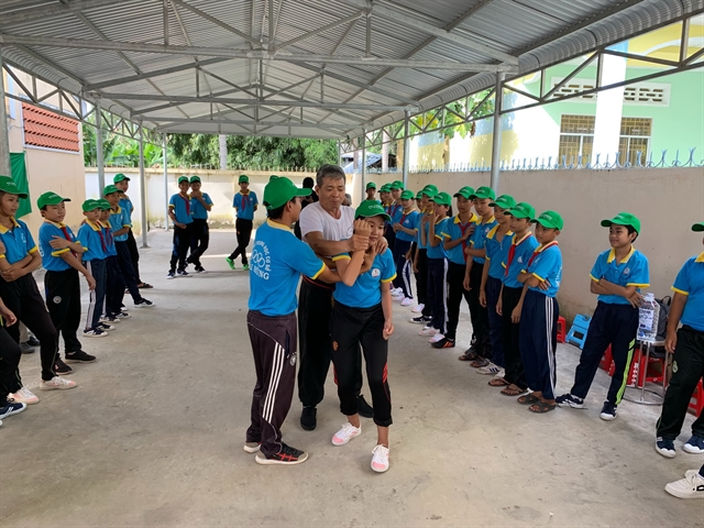 Poor children in Mekong Delta learn self-defence skills