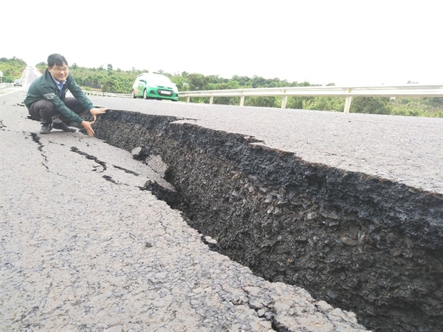 Damaged section of the bypass in Gia Lai to be fixed