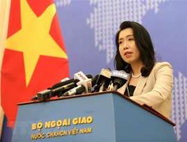 Spokesperson answers query on Chinese ships exit from Vietnamese waters