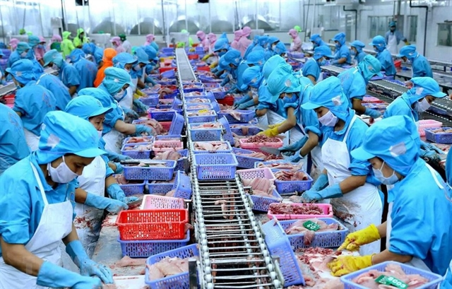 Seafood firms profits drag on weak exports