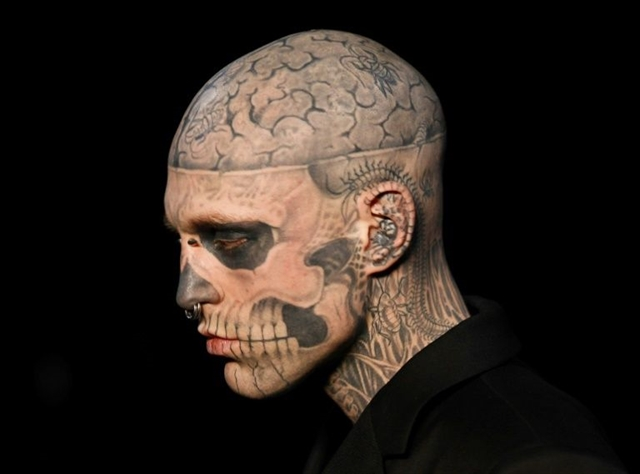 Death of Canadian model 'Zombie Boy ruled an accident: official