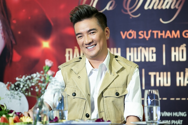 A-list singer devotes his heart and mind to satisfy concert-goers