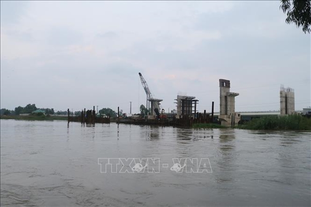 Urban areas in Mekong Deltaface serious flooding
