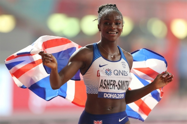 Superb Asher-Smith delivers historic 200 metres gold for Britain