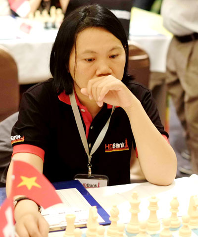 HCM City triumph in national chess champs