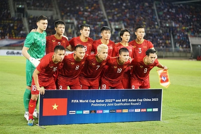 Next Media owns exclusive rights to broadcast away matches of VN