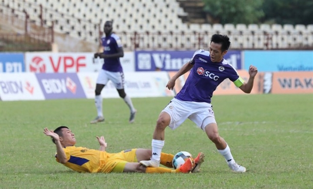 Striker Quyết suspended for two matches