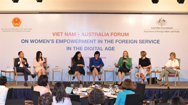 Womens empowerment in the foreign service promoted