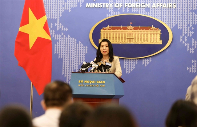 Việt Nams Vanguard Bank is not a disputed zone: foreign ministry