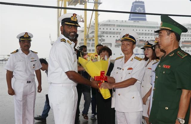 Indian navy ship visits Đà Nẵng