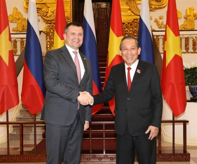 Việt Nam supports Russia in enhancing role in Asia-Pacific: Deputy PM