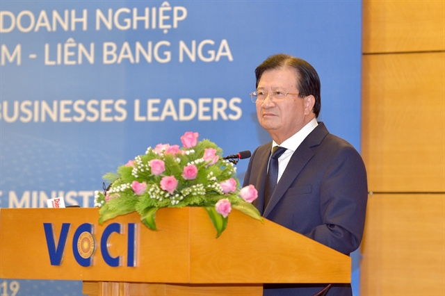VN Russia hold high-level government-business dialogue