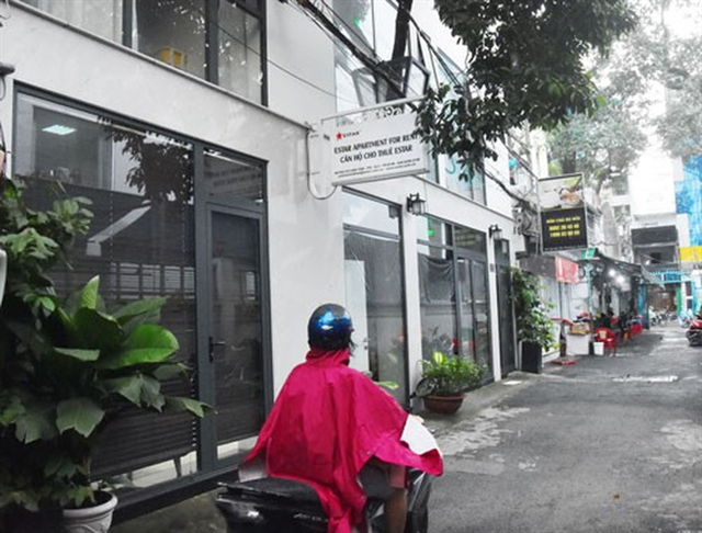Serviced apartments for rent mushroom in downtown HCM City
