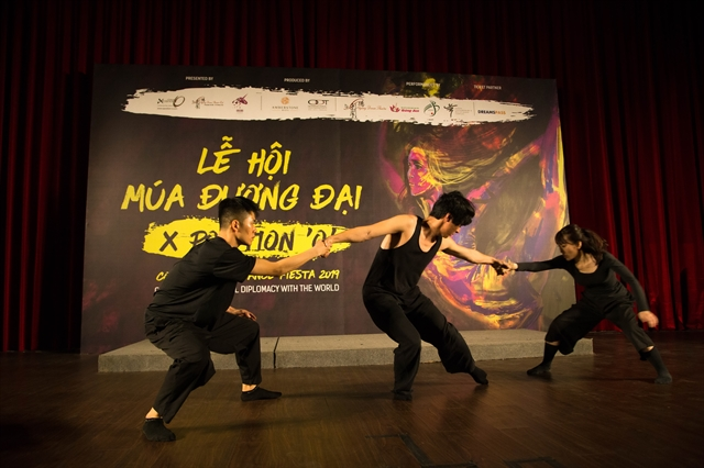 Contemporary dance fiesta comes to HCM City