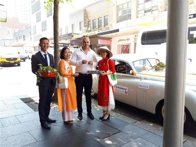 Vietnamese durian promoted in Australia
