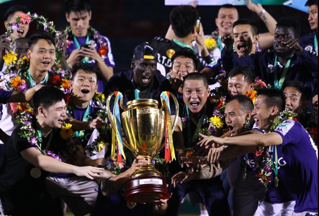 Hà Nội finally win National Cup trophy