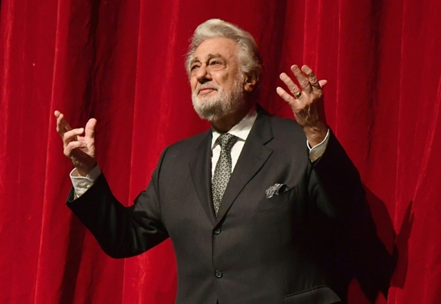 Mexican music prize snubs Placido Domingo amid scandal