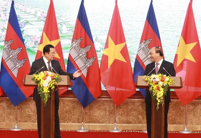 Viet Nam Cambodia leaders say ties inseparable