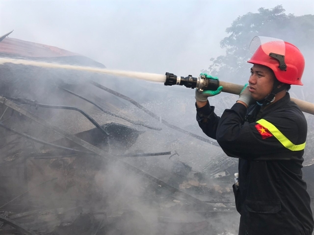 Firefighters lack necessary equipment and uniforms