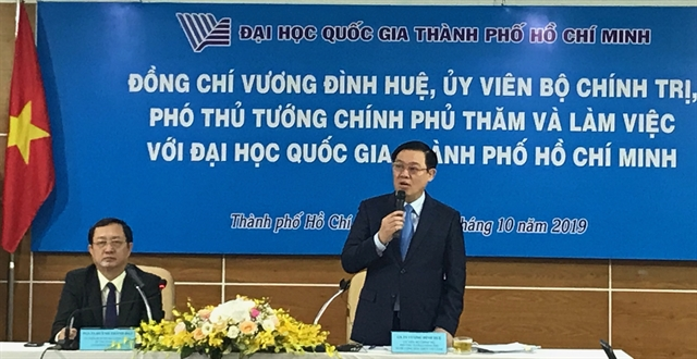 Deputy PM suggests autonomy for HCM City university members