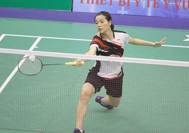 Linh out of Indonesian Masters