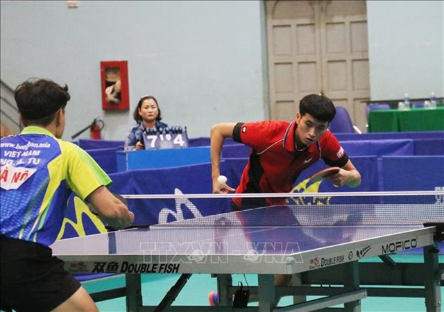 HCM City top medal tally of national table tennis champs