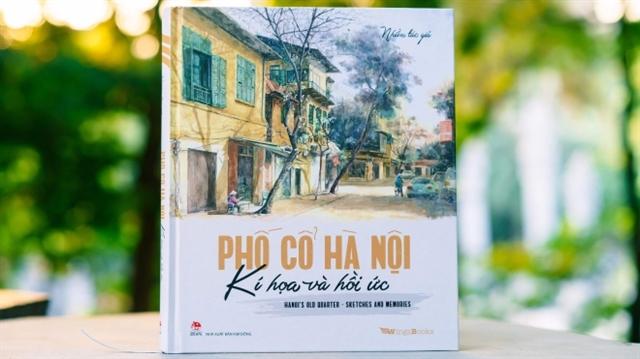 Bilingual sketch book on Hà Nội published