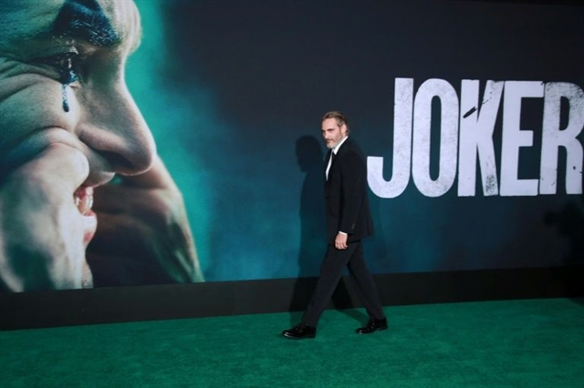 Joker gets last laugh setting a record on North American screens