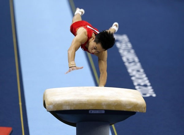 Gymnast Tùng wins Olympic berth in Tokyo