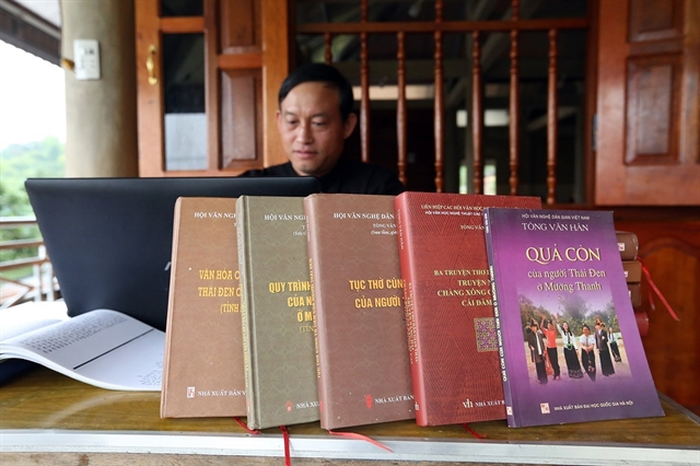 Researcher devotes 20 years to preservingBlack Thai culture