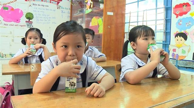 HCM City launches school milk programme