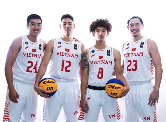 Vietnamese basketball aims to shine at SEA Games