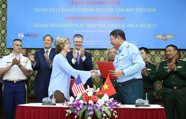 Việt Nam US co-operate in dioxin cleanup at Biên Hòa airbase
