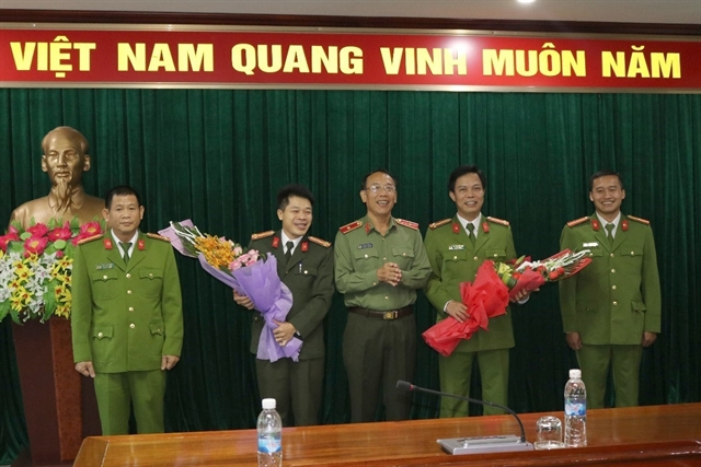 Điện Biên Police awarded for arresting drug traffickers