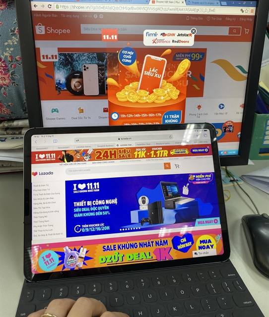 Year-end promotions heat up e-commerce market