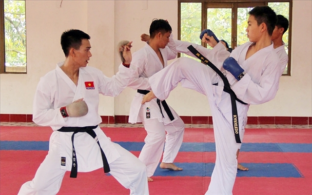 VN aim for four karate gold medals at SEA Games