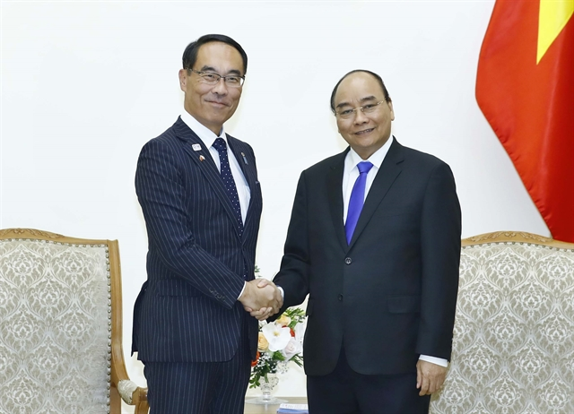 PM Phúc meets Japanese local official