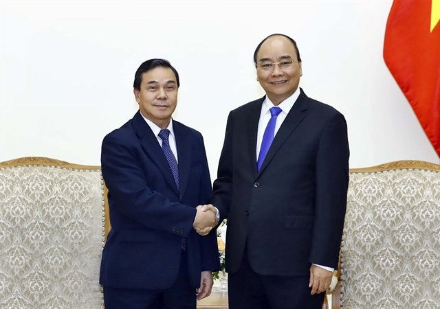Prime Minister hosts new Lao ambassador