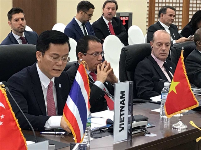 Việt Nam attends FEALAC foreign ministers meeting