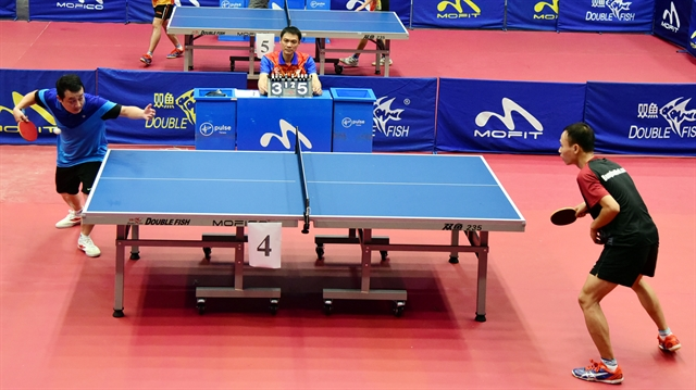 Open table tennis event starts in Hà Nội