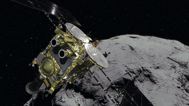 Japans Hayabusa2 leaves asteroid to return to Earth at end of 2020