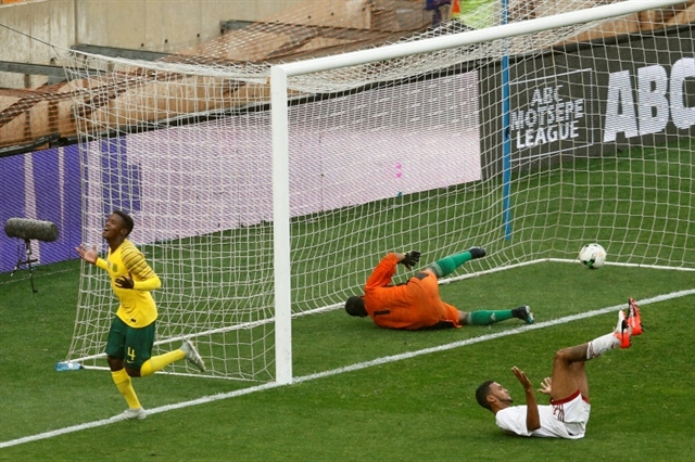Superb Mokoena goal gives South Africa win in Olympics qualifier