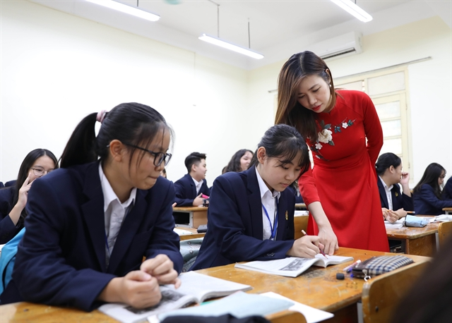 Việt Nam expects the switch in education workforce