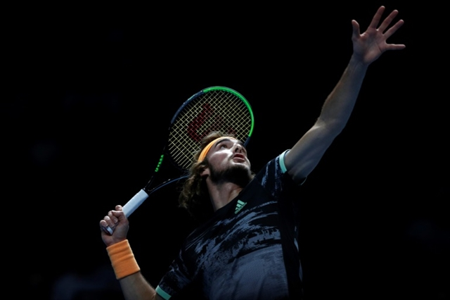 Tsitsipas reaches ATP Finals semis after Nadal thriller