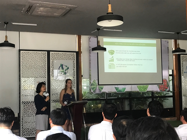 Conference calls for VN-Dutch tie-up in hi-tech agriculture